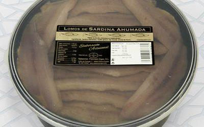 Smoked sardine loins 900/700 g