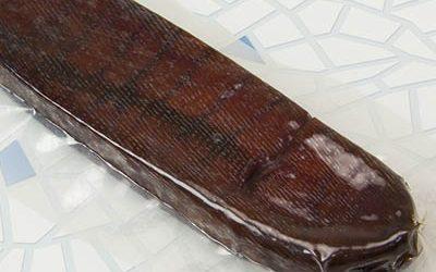 Salted dried tuna spawn vacuum bag