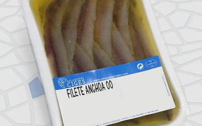 "Anchovy fillet ""00"" 130/100 or 250/200 g"