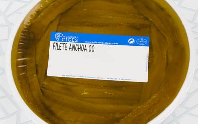 "Filete anchoa ""00"" 500/350 g"