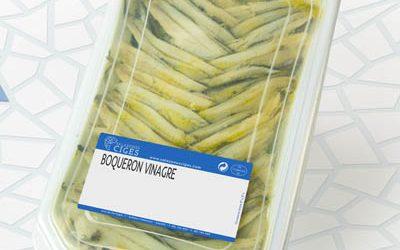 Anchovy in vinegar 700/500 g