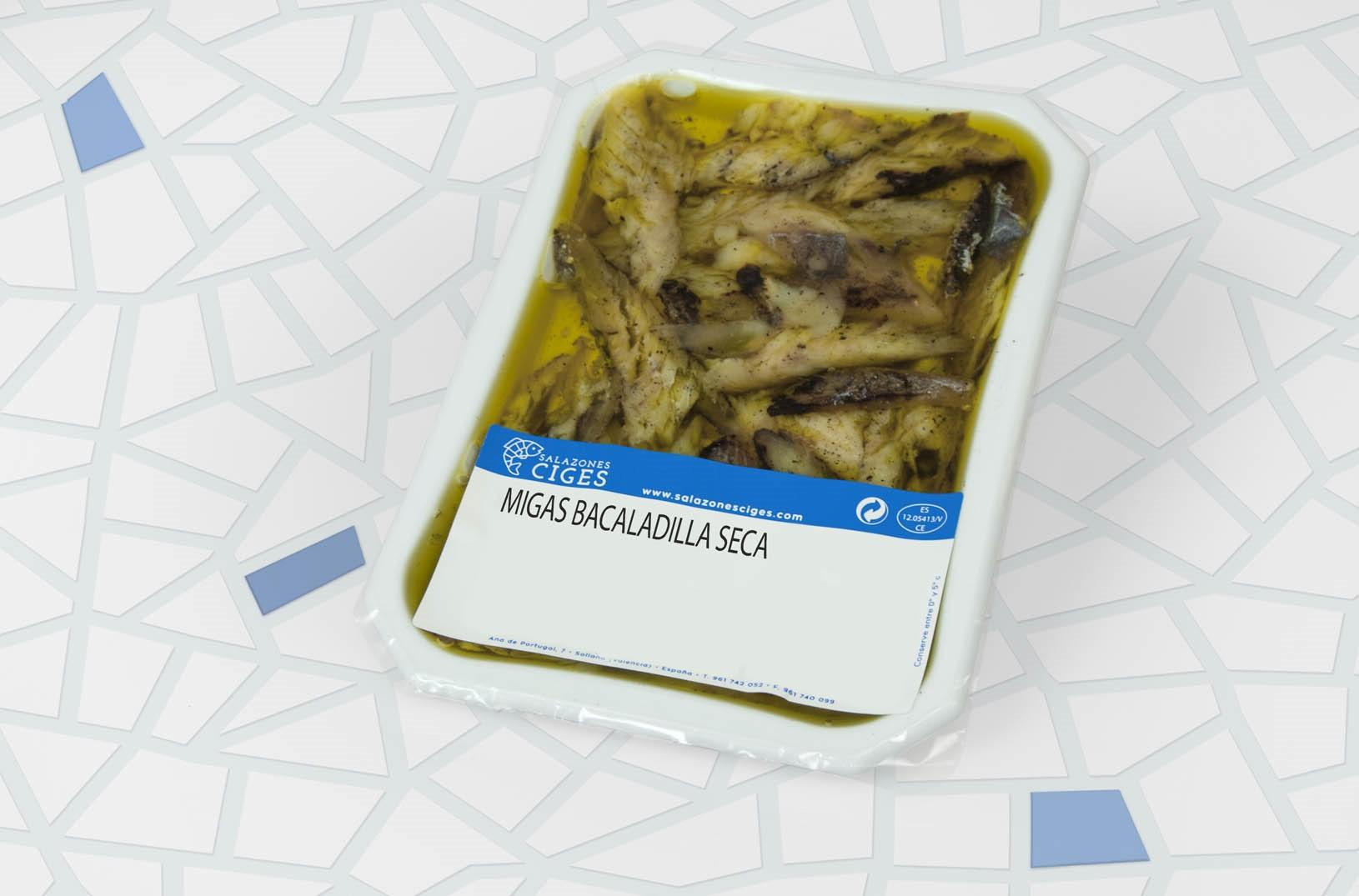 Migas bacaladilla seca 100-60